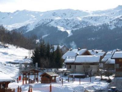 Location au ski Appartement 3 pièces 6 personnes (13) - Les Fermes de Méribel Village - Méribel - Extérieur hiver