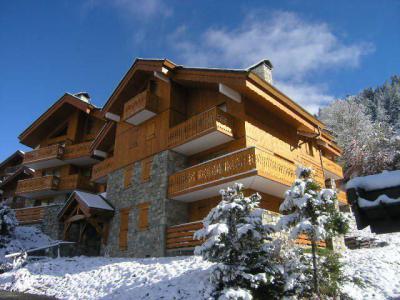 Location Méribel : Résidence Aubépine hiver