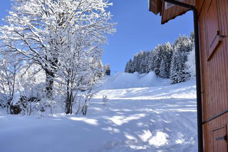 Location au ski Résidence Aubépine - Méribel - Extérieur hiver