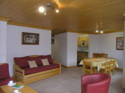 Location au ski Appartement 3 pièces 6 personnes (5) - Residence Aubepine - Méribel - Coin séjour