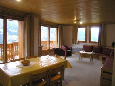 Location au ski Appartement 3 pièces 6 personnes (5) - Residence Aubepine - Méribel - Séjour