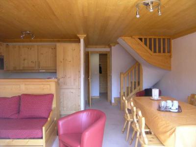 Location au ski Appartement duplex 4 pièces 8 personnes (9) - Residence Aubepine - Méribel - Banquette