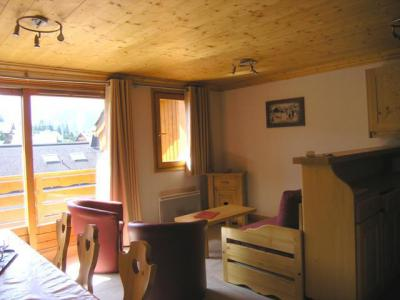 Location au ski Appartement duplex 4 pièces 8 personnes (9) - Residence Aubepine - Méribel - Coin repas