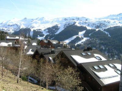 Location au ski Appartement 2 pièces 4 personnes (14) - Residence Aubepine - Méribel - Extérieur hiver