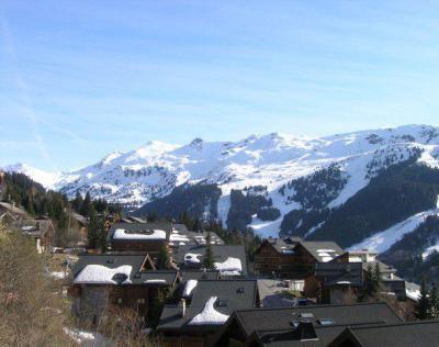 Location au ski Appartement duplex 5 pièces 10 personnes (16) - Residence Aubepine - Méribel - Extérieur hiver