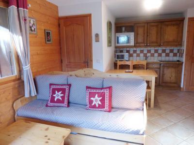 Location au ski Appartement 3 pièces 4 personnes (1D R) - Résidence Bergerie des 3 Vallées D - Méribel - Séjour