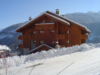 Location au ski Residence Bergerie Des 3 Vallees D - Méribel - Extérieur hiver