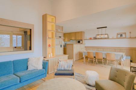 Skiverleih 4-Zimmer-Appartment für 7 Personen (23R) - Résidence Chandonnelles II - Méribel - Wohnzimmer