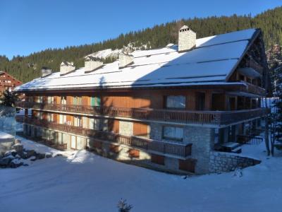 Vacances en montagne Résidence Chasseforêt - Méribel - Extérieur hiver