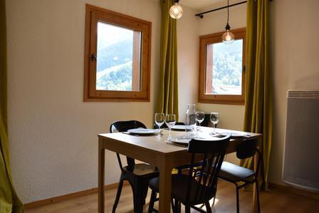 Location au ski Appartement 3 pièces 5 personnes (50) - Résidence Cristal - Méribel - Table
