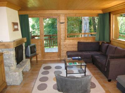 Location au ski Appartement 4 pièces 7 personnes - Residence Dou Du Pont - Méribel - Séjour