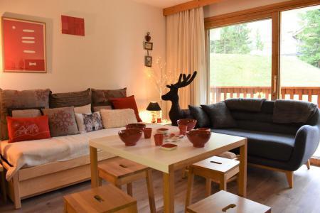 Location au ski Studio coin montagne 4 personnes - Résidence Eperonnelles - Méribel - Séjour