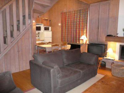 Location au ski Appartement duplex 4 pièces 6 personnes (07) - Residence Frenes - Méribel - Coin séjour