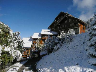 Vacances en montagne Résidence Hauts de Chantemouche - Méribel - Extérieur hiver