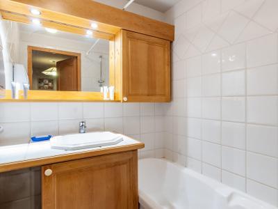 Location au ski Appartement 3 pièces 5 personnes (C11) - Résidence Jardins d'Hiver - Méribel - Baignoire