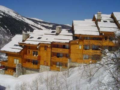 Location au ski Residence L'aubepine - Méribel - Extérieur hiver