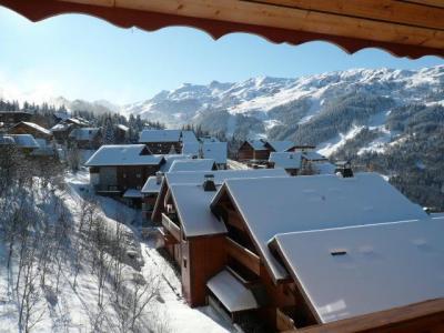 Location au ski Appartement duplex 4 pièces coin montagne 8 personnes - Residence L'aubepine - Méribel - Extérieur hiver