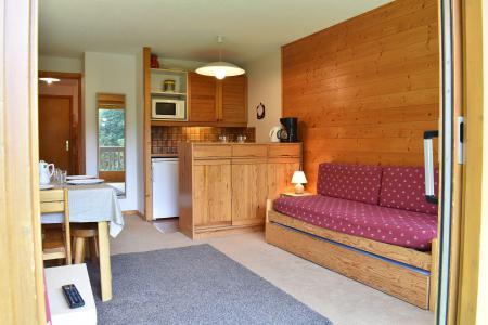 Location au ski Studio 4 personnes (19) - Résidence l'Edelweiss - Méribel