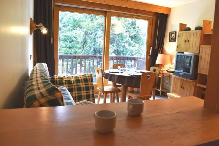 Location au ski Studio 3 personnes (10) - Résidence l'Edelweiss - Méribel