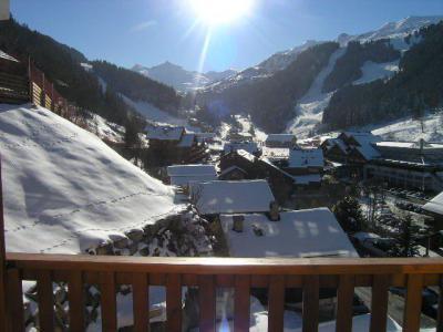 Location au ski Studio 4 personnes (031) - Résidence l'Ermitage - Méribel
