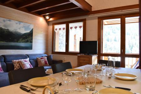 Location au ski Appartement duplex 5 pièces cabine 8 personnes (J4) - Résidence la Croix de Verdon - Méribel