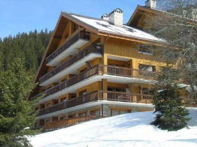 Location au ski Résidence la Forêt - Méribel - Extérieur hiver