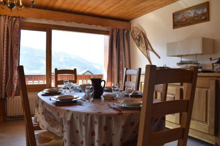 Location au ski Appartement 3 pièces 6 personnes (20) - Résidence la Forêt - Méribel - Salle à manger