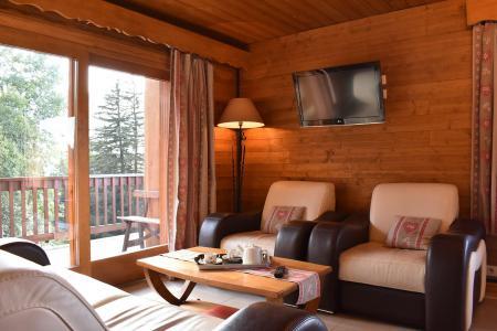Location au ski Appartement 3 pièces 6 personnes (20) - Résidence la Forêt - Méribel - Séjour
