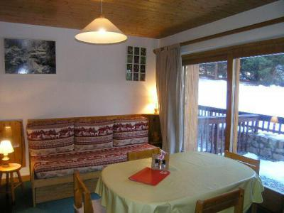 Location au ski Studio 4 personnes (13) - Résidence la Forêt - Méribel - Séjour