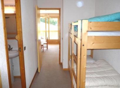 Location au ski Appartement 2 pièces coin montagne 4 personnes (09) - Residence La Genette - Méribel - Lits superposés