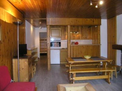 Location au ski Studio 5 personnes (A11) - Résidence la Tougnète - Méribel - Séjour