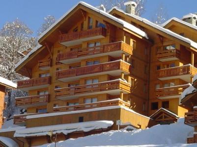 Location au ski Résidence Lachat - Méribel - Extérieur hiver