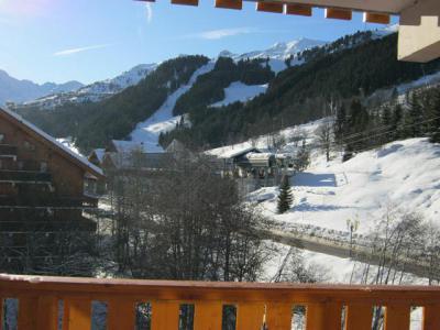 Location au ski Studio 4 personnes (20) - Résidence le Chalet de Méribel - Méribel - Extérieur hiver