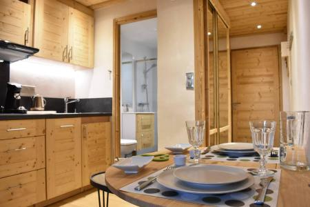 Location au ski Studio 2 personnes (6) - Résidence le Chasseforêt - Méribel - Appartement