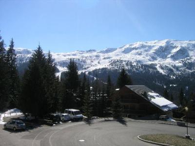 Location au ski Studio 4 personnes (A4) - Residence Le Christmas - Méribel - Extérieur hiver