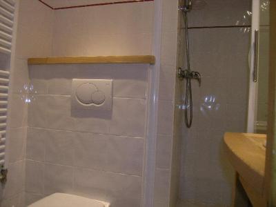 Location au ski Studio 2 personnes (I13) - Residence Le Cirse - Méribel - Salle d'eau