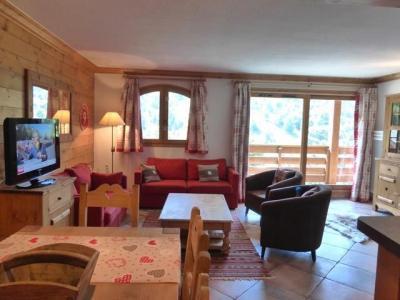 Location au ski Appartement 4 pièces mezzanine 7 personnes (02) - Residence Le Cristal - Méribel - Canapé