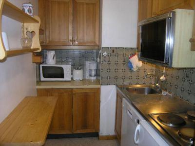 Location au ski Appartement 2 pièces 4 personnes (9) - Résidence le Genèvrier - Méribel - Kitchenette