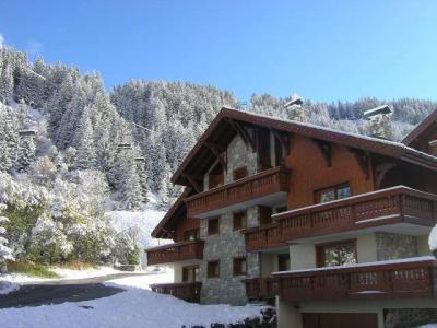 Location au ski Appartement duplex 4 pièces 8 personnes (11) - Résidence le Jardin  d'Eden - Méribel - Extérieur hiver