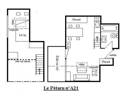 Location Méribel-Mottaret : Résidence le Pétaru hiver