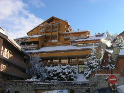 Vacances en montagne Résidence le Pétaru - Méribel - Extérieur hiver