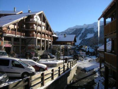Location au ski Appartement 2 pièces 4 personnes (A1) - Residence Le Petaru - Méribel - Extérieur hiver
