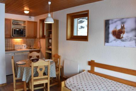 Vacances en montagne Résidence le Plan du Moulin - Méribel - Extérieur hiver