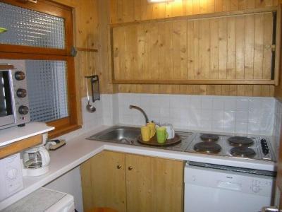 Location au ski Appartement 3 pièces 6 personnes (17) - Residence Le Plein Sud - Méribel - Kitchenette