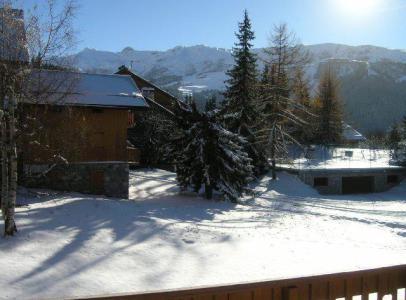 Location au ski Appartement 3 pièces 6 personnes (17) - Residence Le Plein Sud - Méribel - Extérieur hiver