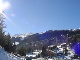 Location au ski Appartement duplex 4 pièces 6 personnes (15) - Residence Le Troillet - Méribel - Extérieur hiver