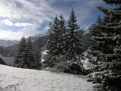 Location au ski Appartement duplex 4 pièces 8 personnes (1) - Residence Le Vallon - Méribel - Extérieur hiver