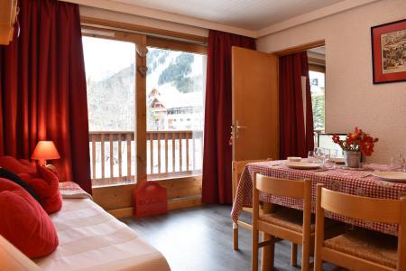 Location au ski Studio divisible 6 personnes (10) - Résidence les Brimbelles - Méribel