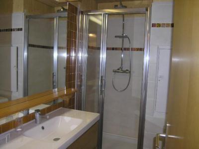 Location au ski Studio 4 personnes (23) - Residence Les Brimbelles - Méribel - Salle d'eau