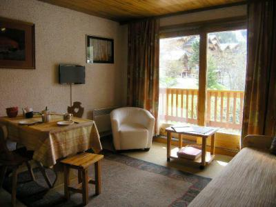 Location au ski Studio 4 personnes (23) - Residence Les Brimbelles - Méribel - Séjour